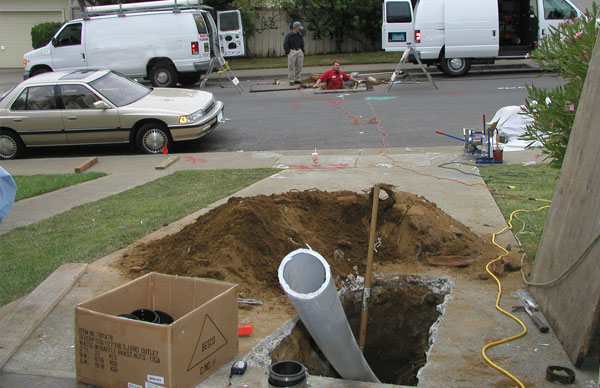 Sewer Main Stoppages in Mira Loma, CA